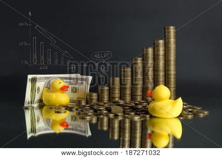 duck is a symbol of corruption in Russia