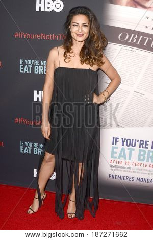 LOS ANGELES - MAY 17:  Salome Azizi at the