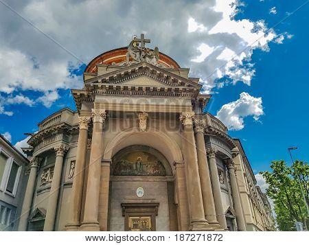 Church Santa Maria Immacolata Delle Grazie In Bergamo