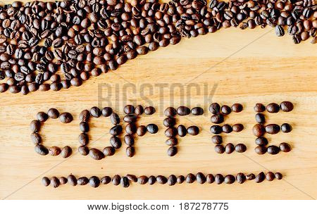 Coffee beans are literally