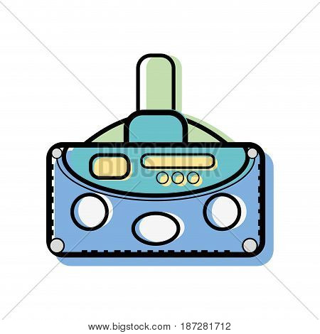 3d eyeglasses to virtual game entertainment, vector illustration