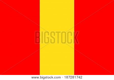 Flag of Senlis is a commune in the Oise department in northern France