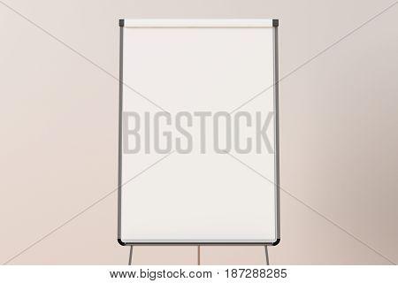 Blank Flip Chart Standing