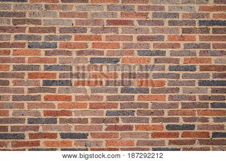 The textured and the pattern of Brick wall background.