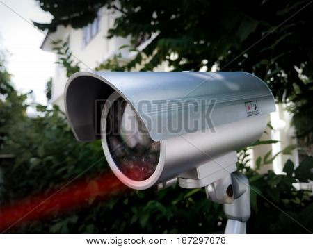 Home Security Camera with Infrared Vision in Daylight