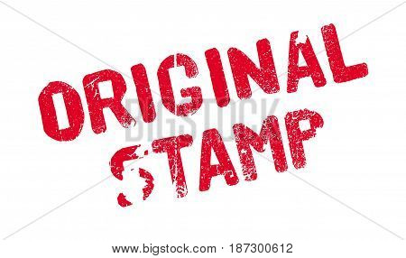 Original Stamp rubber stamp. Grunge design with dust scratches. Effects can be easily removed for a clean, crisp look. Color is easily changed.