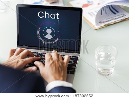 Chat Member Login Register Social Network Connection Avatar Icon