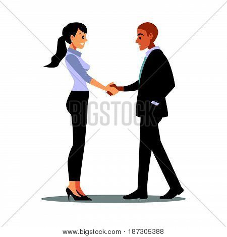 businessmen consulting working man Cooperate Contact job