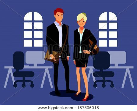businessmen consulting friend job working two men