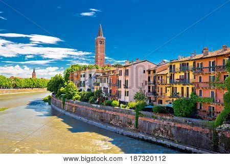 City Of Verona Adige Riverfront View