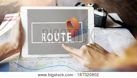 Map Location Destination Navigation Directions