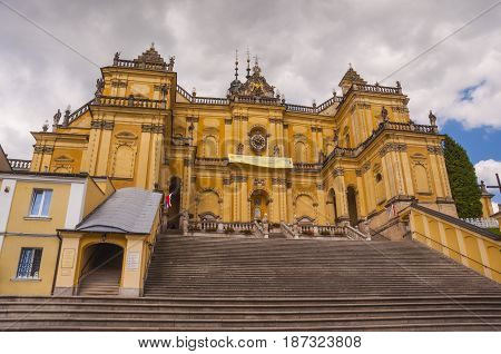Basilica Of The Visitation, Wambierzyce In Poland.