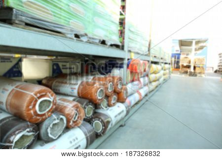 Different goods for wholesale distribution outdoors