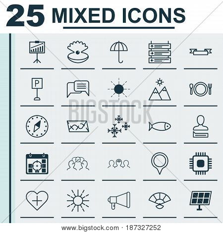 Set Of 25 Universal Editable Icons. Can Be Used For Web, Mobile And App Design. Includes Elements Such As Project Targets, Roadsign, Japan Souvenir And More.