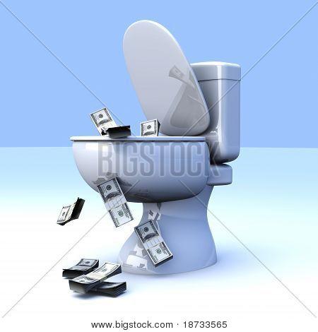 Dollar Toilet.