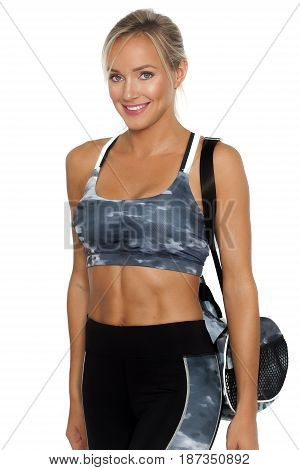 Smiling Fit Woman