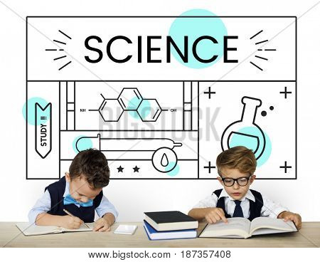 Science concept subject experiment study