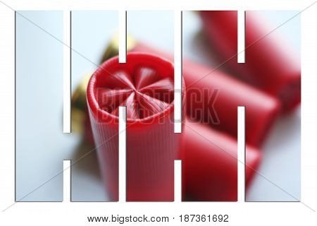 Ammunition Art Close Up High Quality Stock Photo