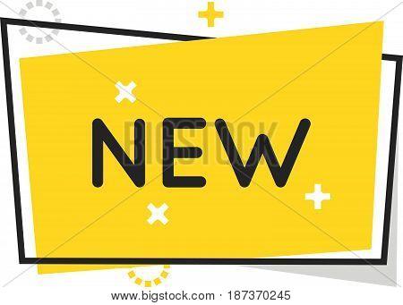 Color Box Icon, Speech Bubble, Banner  Illustration