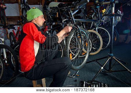 Master Bike Repairs In The Workshop 10