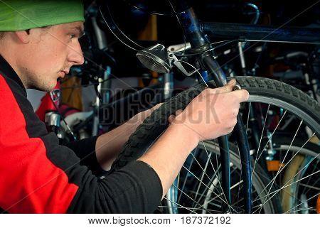 Master Bike Repairs In The Workshop 12