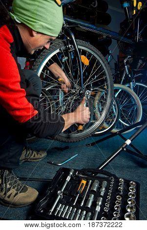 Master Bike Repairs In The Workshop 16