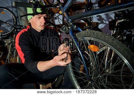 Master Bike Repairs In The Workshop 23