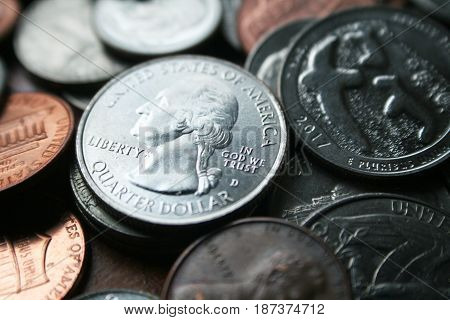 Dividends Close Up High Quality Stock Photo