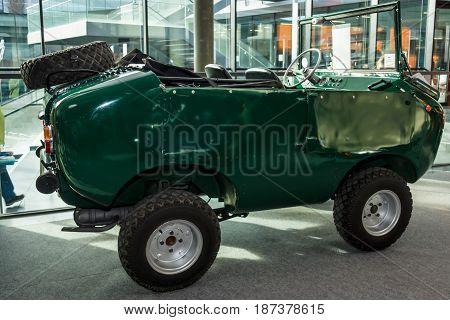 STUTTGART GERMANY - MARCH 04 2017: Italian retro car Ferves Ranger 1967. Europe's greatest classic car exhibition