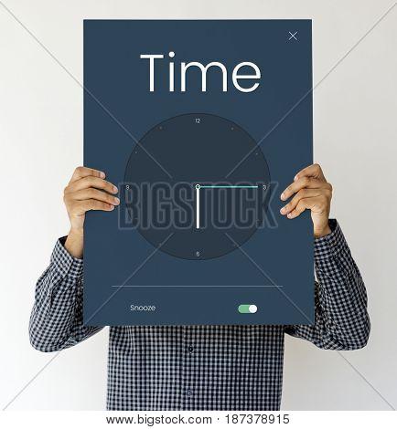 Digital Clock Alarm Application Concept