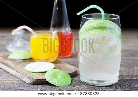 Tasty and cold drinks for the hot summer