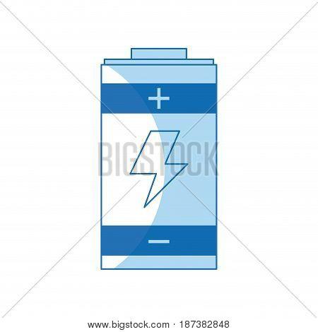 battery power energy charging design vector illustration