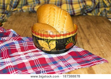 Russian Traditional Pie Pierog Pirog