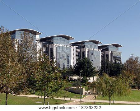 The School of Engineering in Bar-Ilan University near Ramat Gan Israel