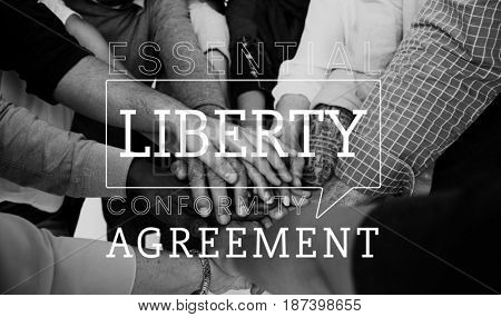Liberty agreement freedom rights independent