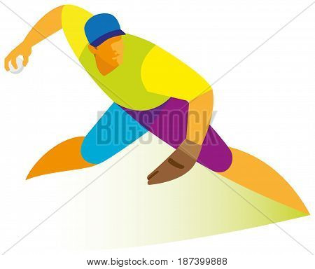 A young man is a baseball pitcher who throws the ball
