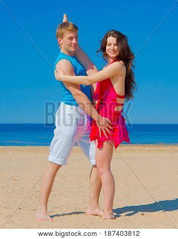 Portrait Romance Beach