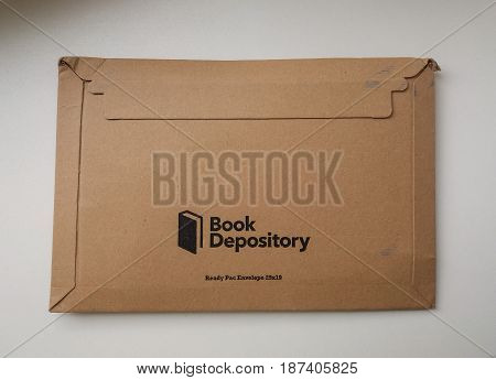 Book Depository Logo Parcel
