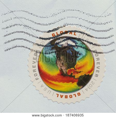 Stamp Of United States Of America