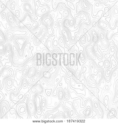 Abstract background with grey lines on a white background. Distorted lines and curves. Lines on a map. Monochrome image.