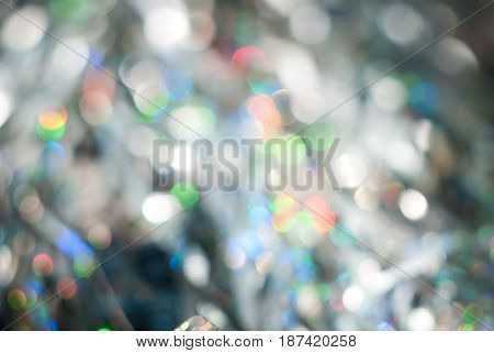 blurred bokeh light in a neutral tone background, soft focus, abstract background