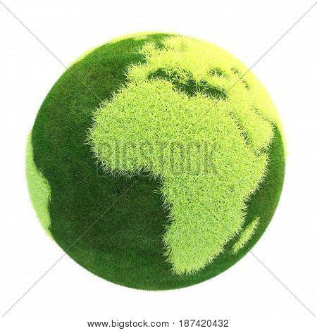 3D Planet Green Easy Cartoon World