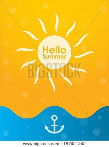 special summer background special vector design eps10