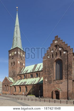 13th century Cathedral at Aarhus, Denmark