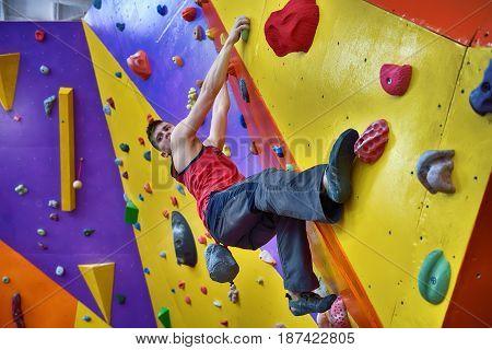 Free Climber Man
