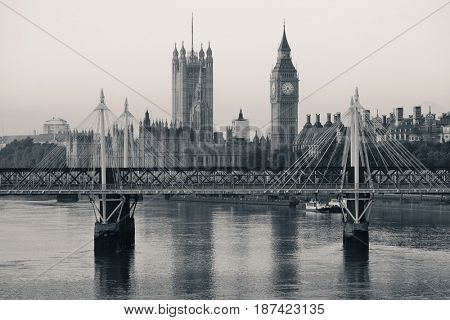 House of Parliament in Westminster in London.