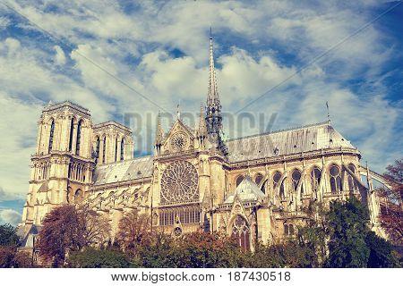 Cathedral of Notre Dame de Paris France