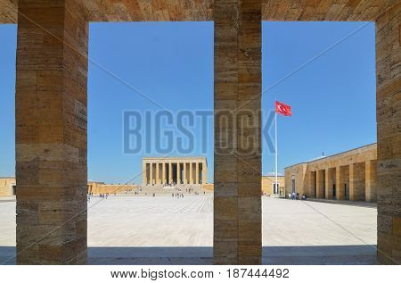 Mausoleum of Ataturk (Anitkabir) - Ankara, Turkey
