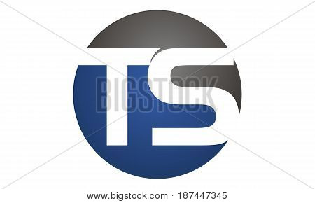 This image describe about Modern Logo Solution Letter T S