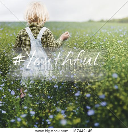 Happiness Childhood Natural Fresh Air Environment